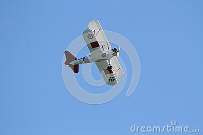 US Navy Stearman Editorial Stock Photo