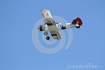 US Navy Stearman Editorial Photo