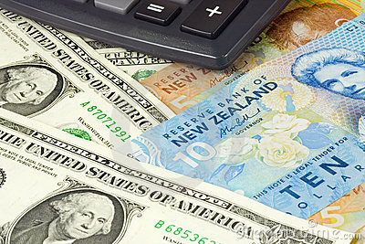 US and New Zealand currency pair