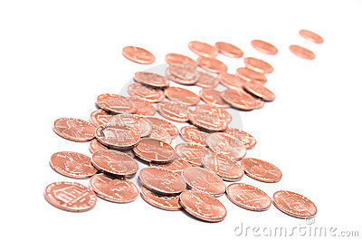 US One Cent Coins or Pennies