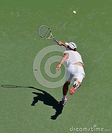 US Open 2011 Igor Andreev Editorial Photo
