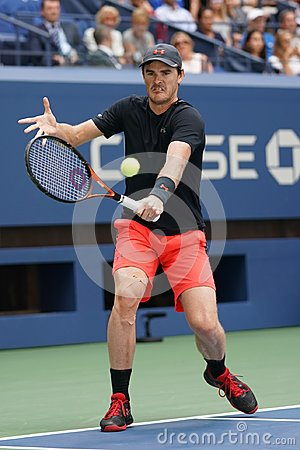 Free US Open 2017 Mixed Doubles Champion Jamie Murray Of Great Britain In Action During Final Match Royalty Free Stock Photography - 100992707