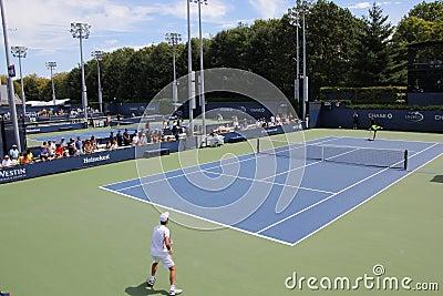 US Open 2013 Redaktionell Arkivfoto
