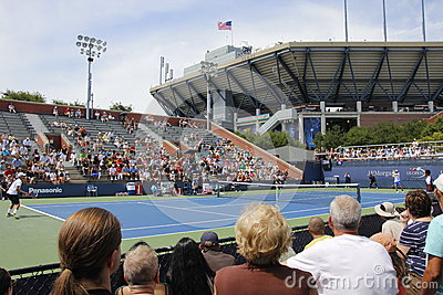 US Open 2013 Redactionele Stock Afbeelding