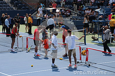 2014 US Open Editorial Image