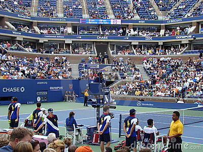 US Open, Flushing Meadow Editorial Photo