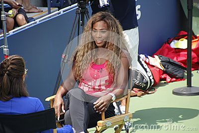 2014 US Open Editorial Stock Photo