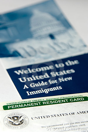 US permanent resident card