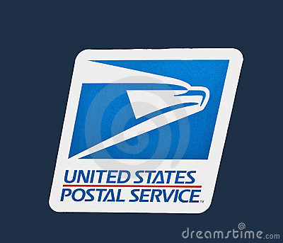 Us Postal Service Logo Editorial Photography - Image: 18638882