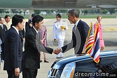 US President Barack Obama Editorial Image
