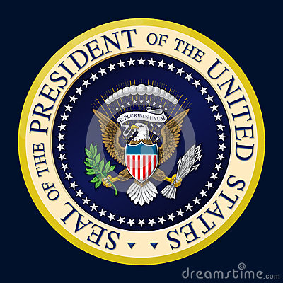 Free US Presidential Seal Color Stock Photography - 76968552