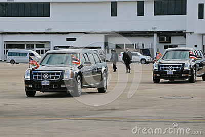 US Presidential State Car Editorial Image