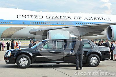 US Presidential State Car Editorial Photo