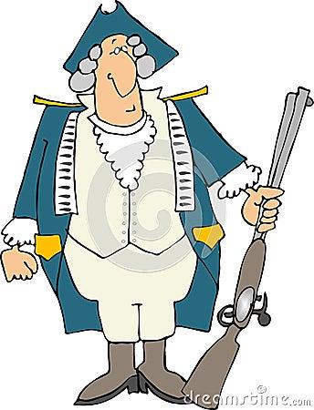 US Revolutionary war soldier