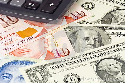 US and Singapore currency pair