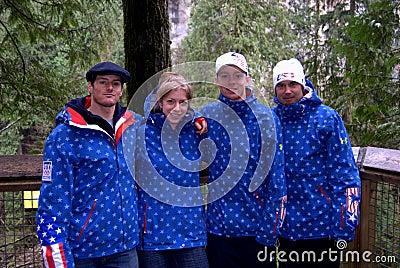 US Ski Team 2 Editorial Photo