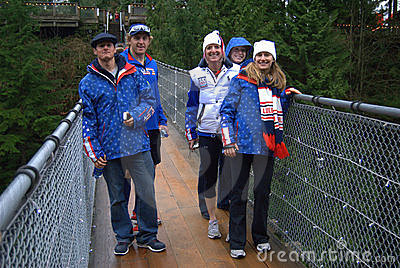 US Ski Team 4 Editorial Stock Photo