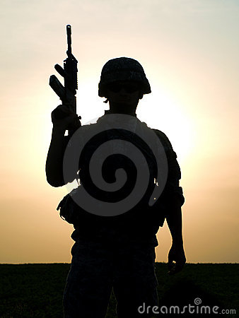Free US Soldier Royalty Free Stock Photos - 20484918
