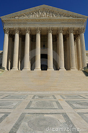 US Supreme Court Building, Washington, DC Royalty Free Stock Image - Image: 13966676