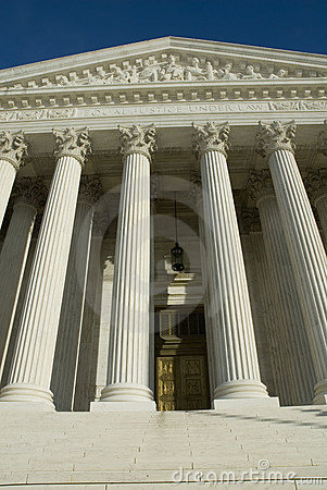Free US Supreme Court In Washington DC Stock Image - 1669611