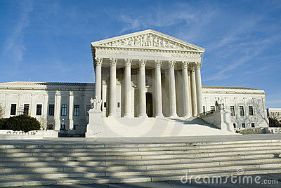 US Supreme Court in Washington DC