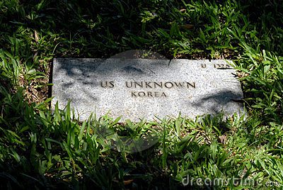 US Unknown Grave Marker