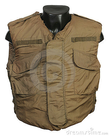 US Vietnam war body armour