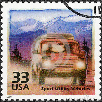 Free USA - 2000: Devote Increase In Popularity Of Off-road Vehicles, Series Celebrate The Century, 1990s Stock Images - 74696044