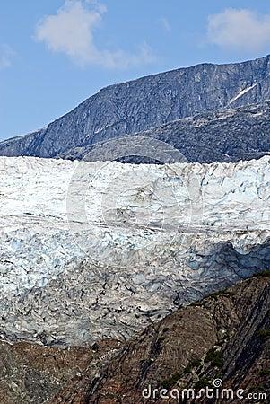 USA Alaska - Mendenhall Glacier - Texture