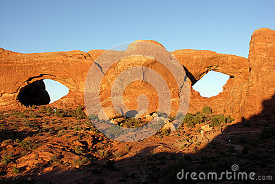 Spectacles, Arches NP, Utah, USA