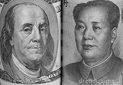 USA and China Currencies