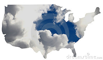 USA + cloud
