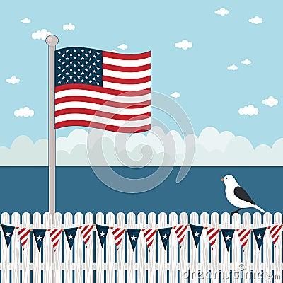 Usa coastal scene