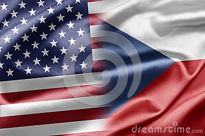 USA And Czech Republic Stock Image - Image: 28584981