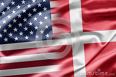 USA and Denmark