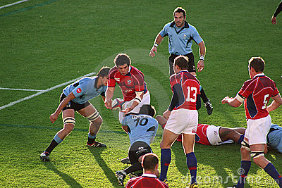 USA Eagles vs Uruguay National Rugby Game Editorial Stock Photo