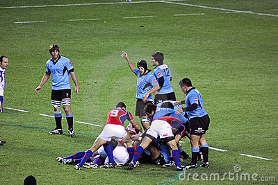 USA Eagles vs Uruguay National Rugby Game Editorial Photography