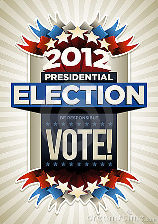 Free USA Election Poster Stock Photography - 23325622