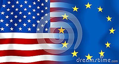 Usa-Eu Flag