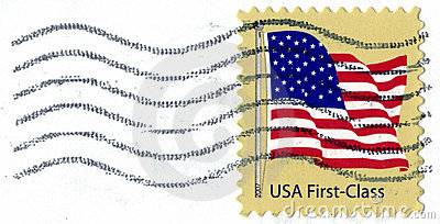 USA First Class Postage Stamp