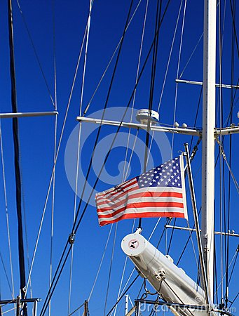 Usa flag Editorial Stock Image