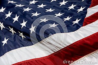 USA Flag Billowing 2