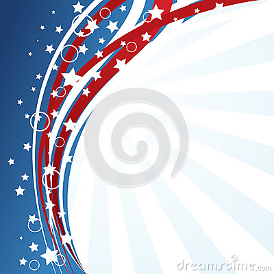 USA-flaggabakgrund