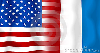 Usa-France Flag