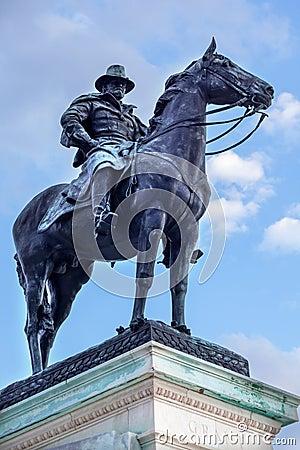 USA Grant statuy Wzgórze Kapitolu Pamiątkowy washington dc
