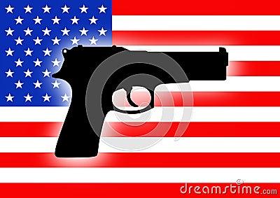 USA gun crime