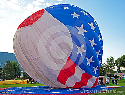 USA Hot Air Ballon