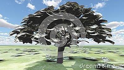 USA Hundred Tree