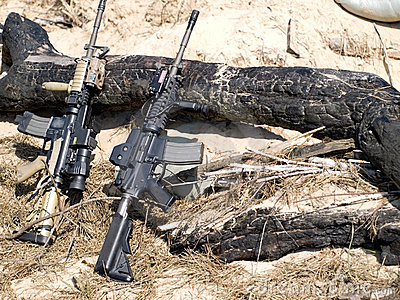 USA M4 Rifles
