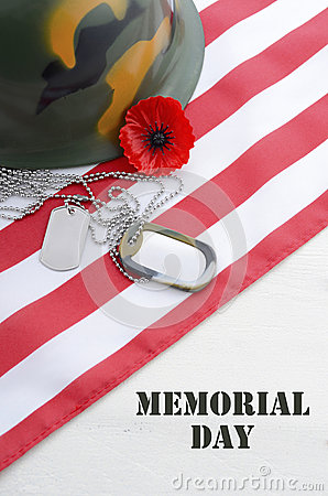 Free USA Memorial Day Concept. Royalty Free Stock Image - 53217246